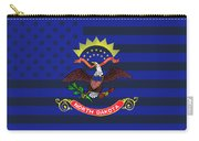North Dakota State Flag Graphic Usa Styling Carry-all Pouch