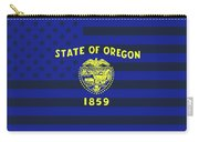 Oregon State Flag Graphic Usa Styling Carry-all Pouch