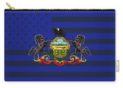 Pennsylvania State Flag Graphic Usa Styling Carry-all Pouch
