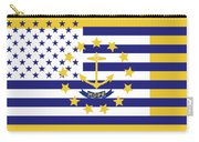Rhode Island State Flag Graphic Usa Styling Carry-all Pouch