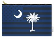 South Carolina State Flag Graphic Usa Styling Carry-all Pouch