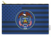 Utah State Flag Graphic Usa Styling Carry-all Pouch