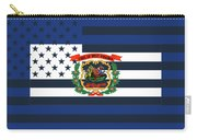 West Virginia State Flag Graphic Usa Styling Carry-all Pouch