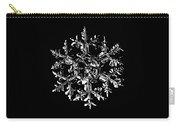 Snowflake Vector - Gardener's Dream Black Version Carry-all Pouch