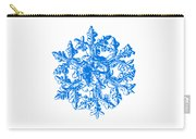 Snowflake Vector - Gardener's Dream White Version Carry-all Pouch