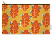 Cute Bugs Eat Autumn Leaf Carry-all Pouch