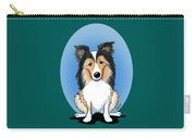Kiniart Sheltie Carry-all Pouch