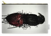 Raven And Heart Grenade Carry-all Pouch