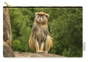 Meditating Monkey Carry-all Pouch