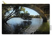 Tree Over Lady Bird Lake Under Lamar St Bridge Carry-all Pouch