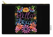 Hello Gorgeous Black  Carry-all Pouch