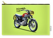 The Steve Mcqueen Isdt Motorcycle 1964 Carry-all Pouch