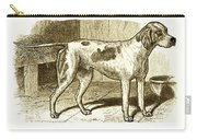 Vintage Sepia German Shorthaired Pointer Carry-all Pouch