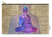 Space Buddha Dictionary Art Carry-all Pouch