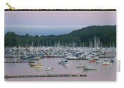 Sunrise Over Mallets Bay Panorama - Two Carry-all Pouch