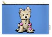 Heartstrings Cairn Terrier Carry-all Pouch