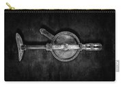 Antique Shoulder Drill Bk Bw Carry-all Pouch