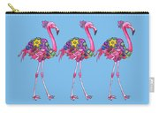 Fancy Felicity Flamingo Carry-all Pouch