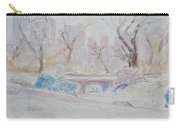 Central Park Record Early March Cold Circa 2007 Carry-all Pouch