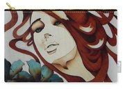 Beautiful Blue Eyes Woman Carry-all Pouch
