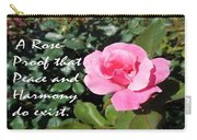 A Rose Is Proof Carry-all Pouch