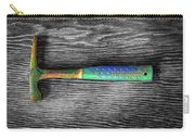 Tools On Wood 63 On Bw Carry-all Pouch