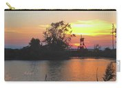 Sunset West Of Myers Bagels Vertical Carry-all Pouch