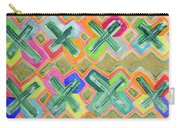 Colorful X-pattern  Carry-all Pouch