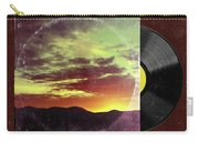 American Sunset As Vintage Album Art Carry-all Pouch