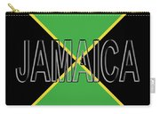 Flag Of Jamaica Word Carry-all Pouch