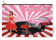 Rock'n Roll The Sweet Fifties Carry-all Pouch