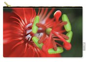 Passiflora Vitifolia Scarlet Red Passion Flower Carry-all Pouch