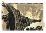Sepia Eiffel Carry-all Pouch