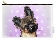 Kiniart Shepherd Puppy Carry-all Pouch