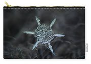 Real Snowflake Photo - The Shard Carry-all Pouch by Alexey Kljatov