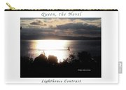 Image Included In Queen The Novel - Lighthouse Contrast Enhanced Poster Carry-all Pouch
