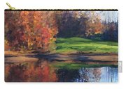 Autumn By Water Carry-all Pouch by Ivana Westin