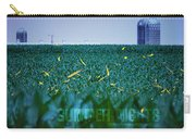 1306 - Fireflies - Lightning Bugs Over Corn Carry-all Pouch