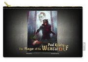 The Rage Of The Werewolf - Version 3 - Carry-all Pouch