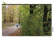 Autumn Bicycling Vertical One Carry-all Pouch