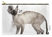 Cute Cornish Rex Youngster Carry-all Pouch