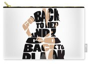 Amy Winehouse Typography Art Carry-all Pouch
