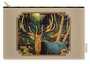 Elk Painting - Autumn Majesty Carry-all Pouch
