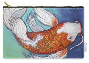 Paisley Koi Carry-all Pouch