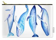 Whale Friends Carry-all Pouch
