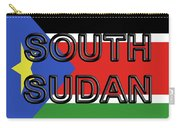 Flag Of  South Sudan Word Carry-all Pouch