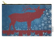 Seasonal Greetings Artwork Carry-all Pouch