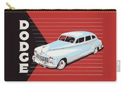 Dodge Showroom Poster Carry-all Pouch