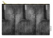 Ensilage Fork Up On Plywood In Bw 66 Carry-all Pouch
