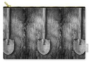 Short Handled Shovel On Plywood 72 In Bw Carry-all Pouch